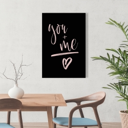 Canvas 24 x 36 - You + me