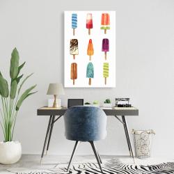 Canvas 24 x 36 - Iced lollipop