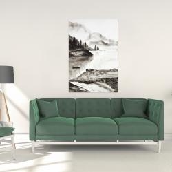 Canvas 24 x 36 - Peaceful landscape