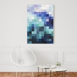 Canvas 24 x 36 - Pixelized landscape