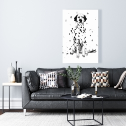 Canvas 24 x 36 - Dalmatian dog