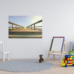 Canvas 24 x 36 - Footbridge