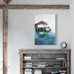 Canvas 24 x 36 - Dream travel