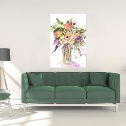 Canvas 24 x 36 - Romantic bouquet