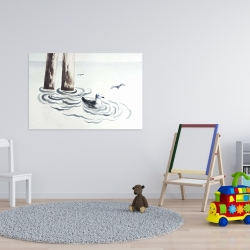 Canvas 24 x 36 - Seagull