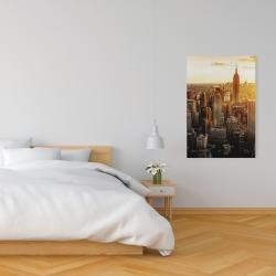 Canvas 24 x 36 - New york city at sunset