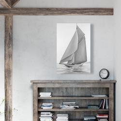 Canvas 24 x 36 - Vintage sailing ship