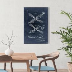 Toile 24 x 36 - Plan d'un leurre de poisson
