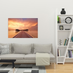 Canvas 24 x 36 - Sea villas