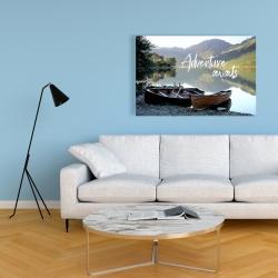 Canvas 24 x 36 - Adventure awaits