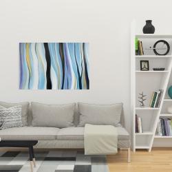 Toile 24 x 36 - Humeur bleu