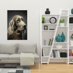 Canvas 24 x 36 - Field spaniel