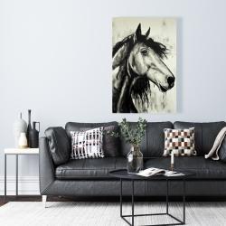 Toile 24 x 36 - Cheval spirit
