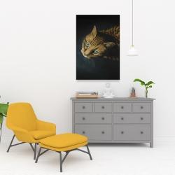 Canvas 24 x 36 - Bengal cat