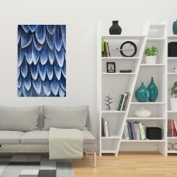 Canvas 24 x 36 - Plumage blue