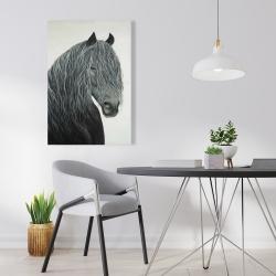 Canvas 24 x 36 - Wild heart horse