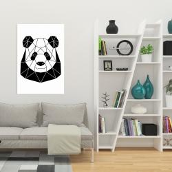 Canvas 24 x 36 - Geometric panda
