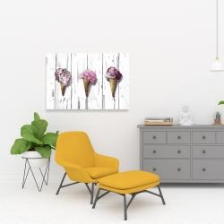 Canvas 24 x 36 - Peony cones