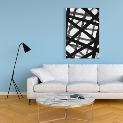 Canvas 24 x 36 - Abstract bold lines