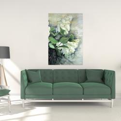 Canvas 24 x 36 - White lilacs