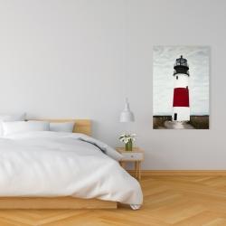 Canvas 24 x 36 - Sankaty head lighthouse