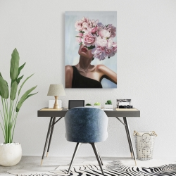 Canvas 24 x 36 - See life in flowers
