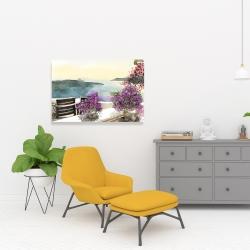 Canvas 24 x 36 - Mediterranean sea view
