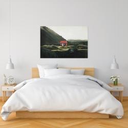 Canvas 24 x 36 - Isolated shack