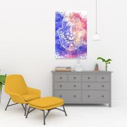 Canvas 24 x 36 - Hamsa hand