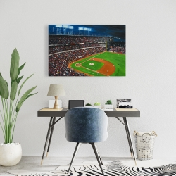 Canvas 24 x 36 - Baseball game