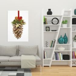 Canvas 24 x 36 - Christmas pine cone