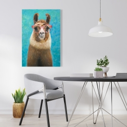 Canvas 24 x 36 - Lovable llama