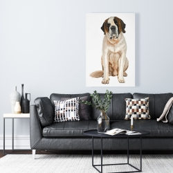 Canvas 24 x 36 - Saint bernard