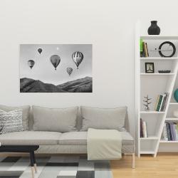 Canvas 24 x 36 - Air balloon landscape