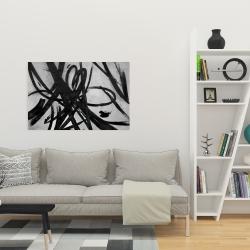 Canvas 24 x 36 - Circular strokes