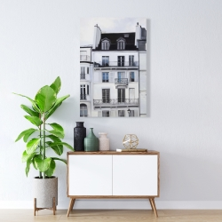 Canvas 24 x 36 - Buildings along the seine river