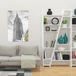 Canvas 24 x 36 - Outline of empire state building