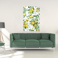 Canvas 24 x 36 - Lemon pattern