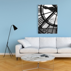 Canvas 24 x 36 - Clock at the orsay museum