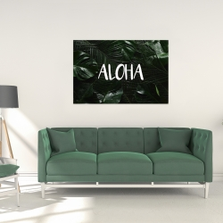 Canvas 24 x 36 - Tropical aloha