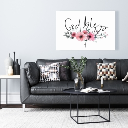 Canvas 24 x 36 - God bless