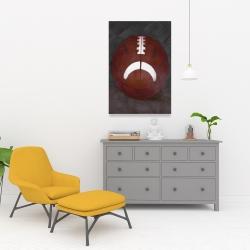 Canvas 24 x 36 - Football ball