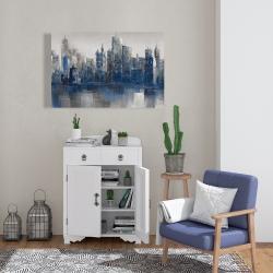 Canvas 24 x 36 - Melancholy city