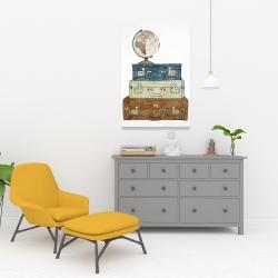 Canvas 24 x 36 - Go around the world