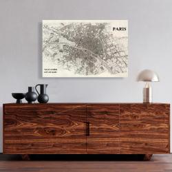 Canvas 24 x 36 - Paris