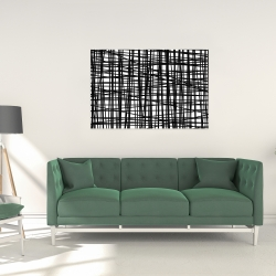 Canvas 24 x 36 - Abstract small stripes