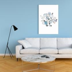 Canvas 24 x 36 - Round pebbles