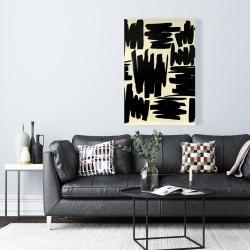 Canvas 24 x 36 - Deconstructed stripes