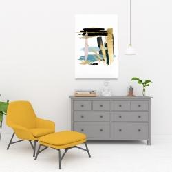 Canvas 24 x 36 - Pastel stroke
