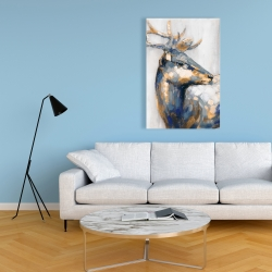 Canvas 24 x 36 - Golden deer
